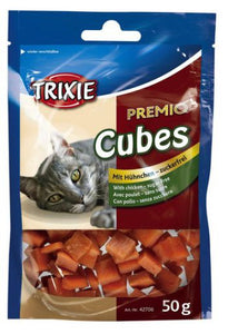 Premio Cat Treats Cheese Chick Cubes 50G