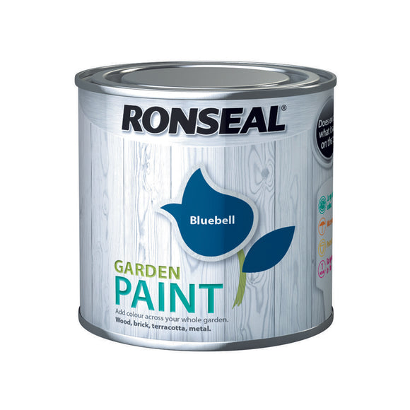 Ronseal Garden Paint 250ml Bluebell