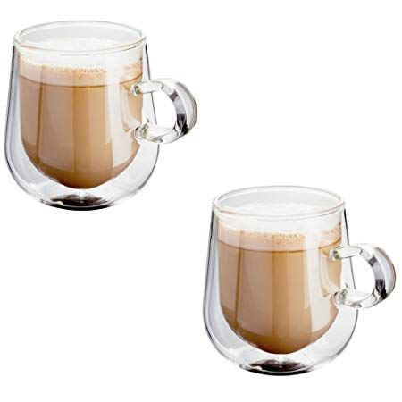 Judge Double Walled Glassware 2pce Latte