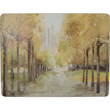 Creative Tops Central Park Set of 6 Premium Mats