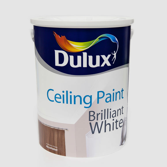 Dulux Ceiling Paint Brilliant White 5L