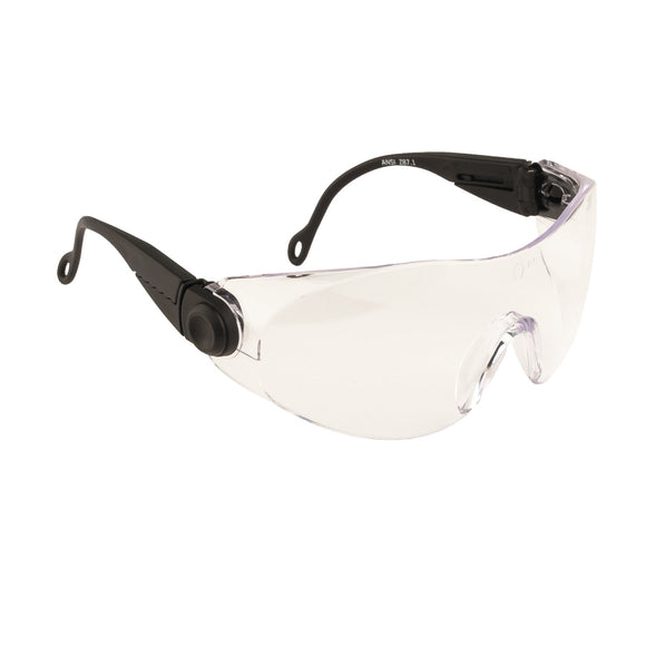 Portwest Contour Spectacle Clear Goggles