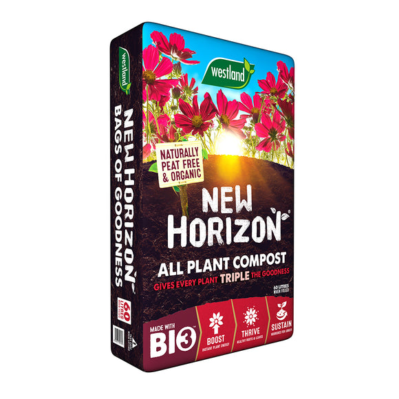 Westland New Horizon All plant Compost 60L
