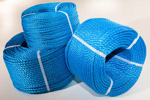 8mm Blue Poly Rope 200M