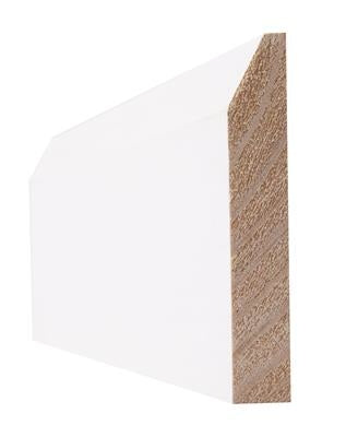 Indoors Primed 6 Inch Chamfered Skirting 19X144X3.6M(5Pcs)