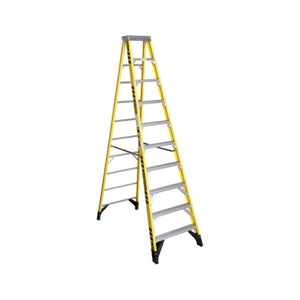 10 Step Single-Sided Fibreglass Step Ladder
