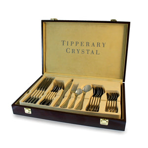 Tipperary Crystal Elegance 24 PCE Cutlery Canteen