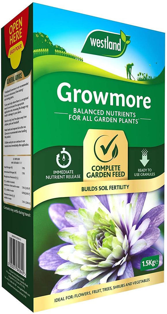 Westland Growmore Fertiliser 1.5kg