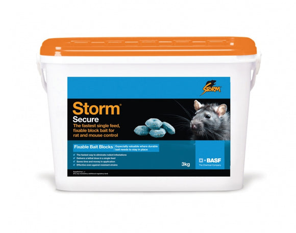 Storm Rat Poison 3kg Block