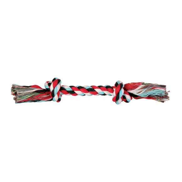 2 Knot Colour Rope Toy 37CM Large