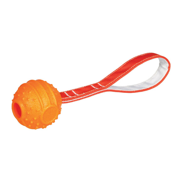 6CM Soft & Strong Ball On Strap Orange