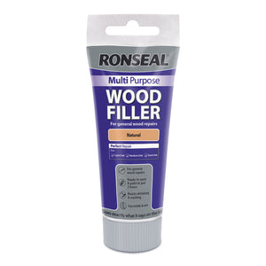 Ronseal Multi Purpose Wood Filler Tube 100g Natural