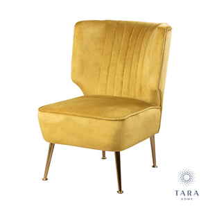Easton Accent Chair Mustard