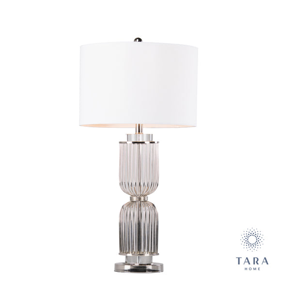 Giorgia table lamp crystal satin 78cm