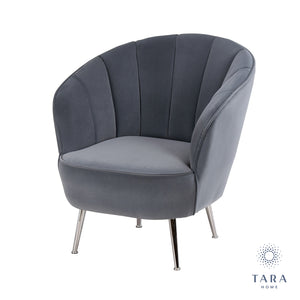 Kendall Accent Chair Charcoal Grey