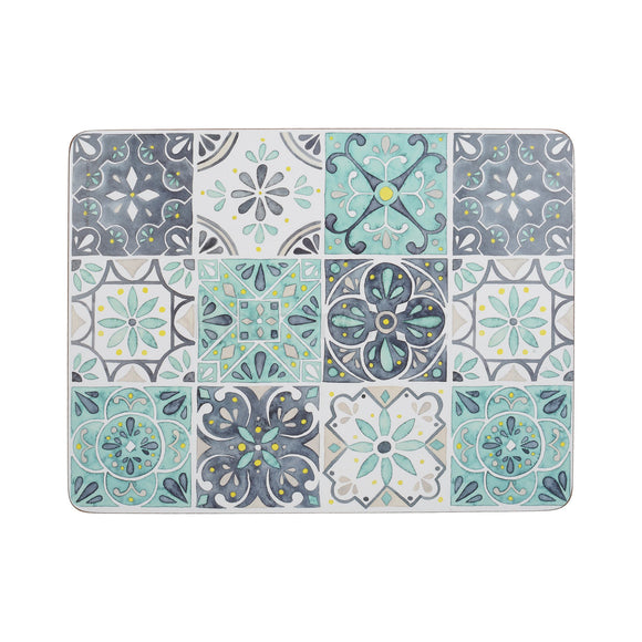 Creative Tops Premium Green Tile Pack of 6 Standard Mats
