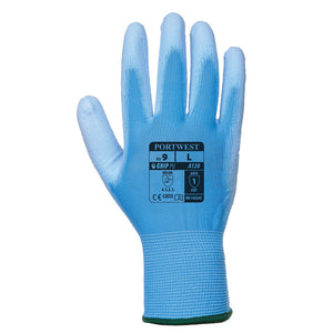 Portwest PU Palm Glove Blue Extra Large