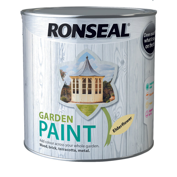 Ronseal Garden Paint 2.5L Elderflower