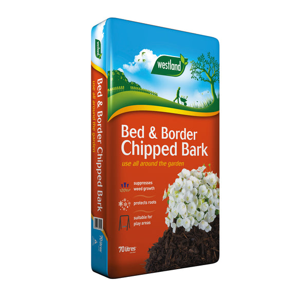 Westland Bed & Border Chipped Bark 70L (3 for €21)