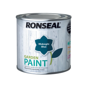 Ronseal Garden Paint 250ml Midnight Blue