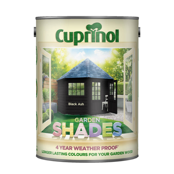 Cuprinol Garden Shades Black Ash 5L