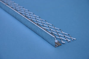Plaster Stop Bead Galvanised 8' X 3mm