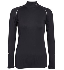 Ladies Base Layer Black Large
