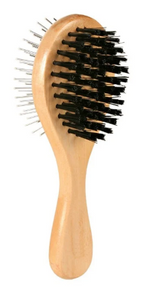 Trixie Wooden Brush Double Sided 18CM