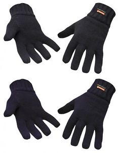 Insulatex knit gloves