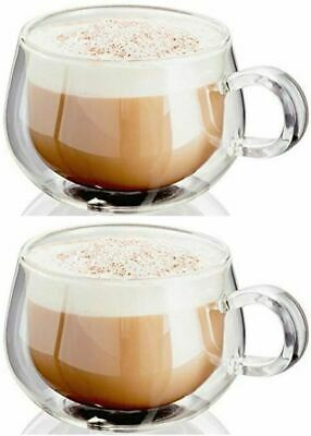 Judge Double Walled Glassware 2pce Cappuccino