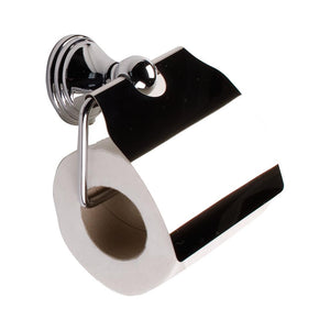Tema Arno Toilet Roll Holder & Lid Chrome