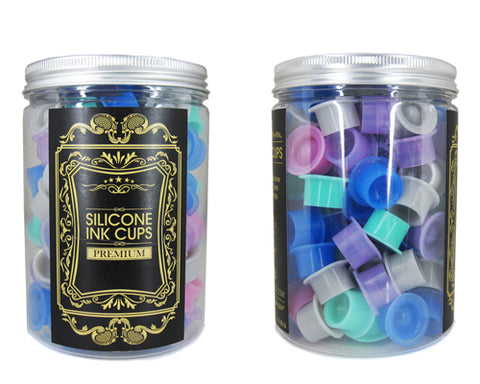 SILICONE INK CUPS 100 count