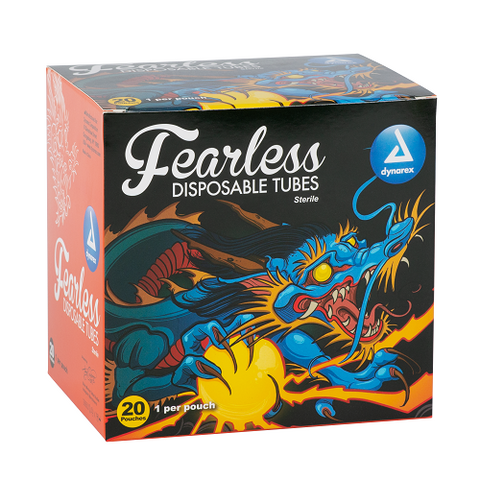 Fearless Tattoo Disposable Tubes - Round, Diamond, Magnum, 38mm
