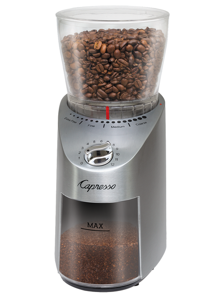 Capresso Infinity Plus Conical Burr Coffee Grinder