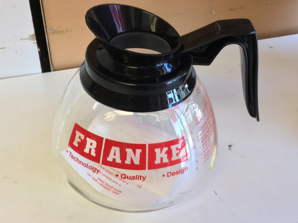 Glass coffee pot carafe replacement FRANKE / Morala