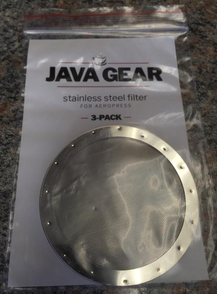 Java Gear Filter for Aeropress