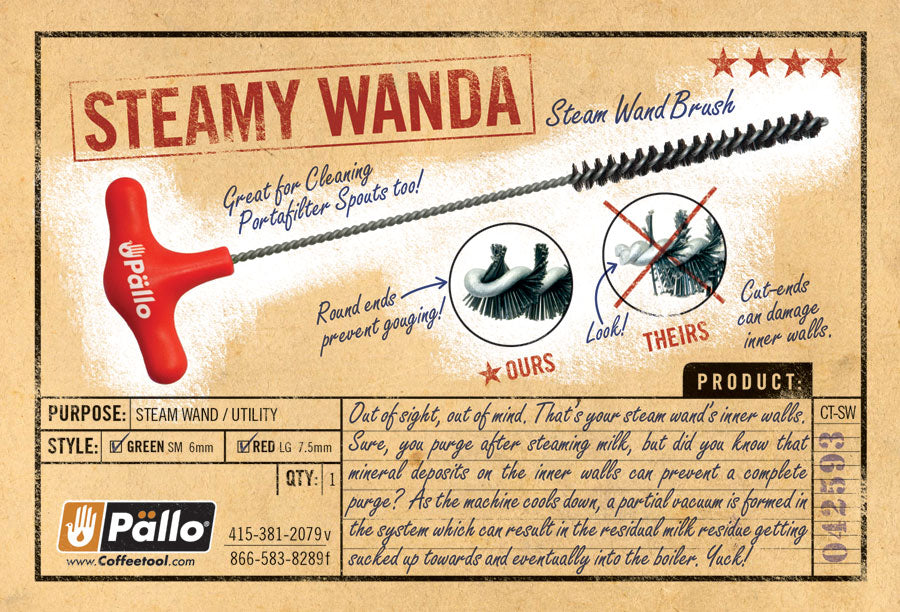 Pallo Steamy Wand Brush