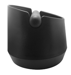 Small Espresso Knock Box Black