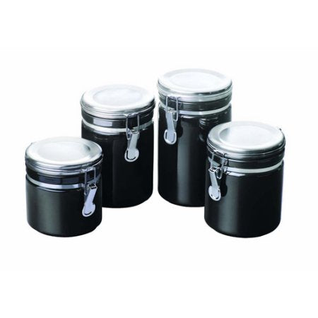 Anchor Hocking Round Ceramic Canister
