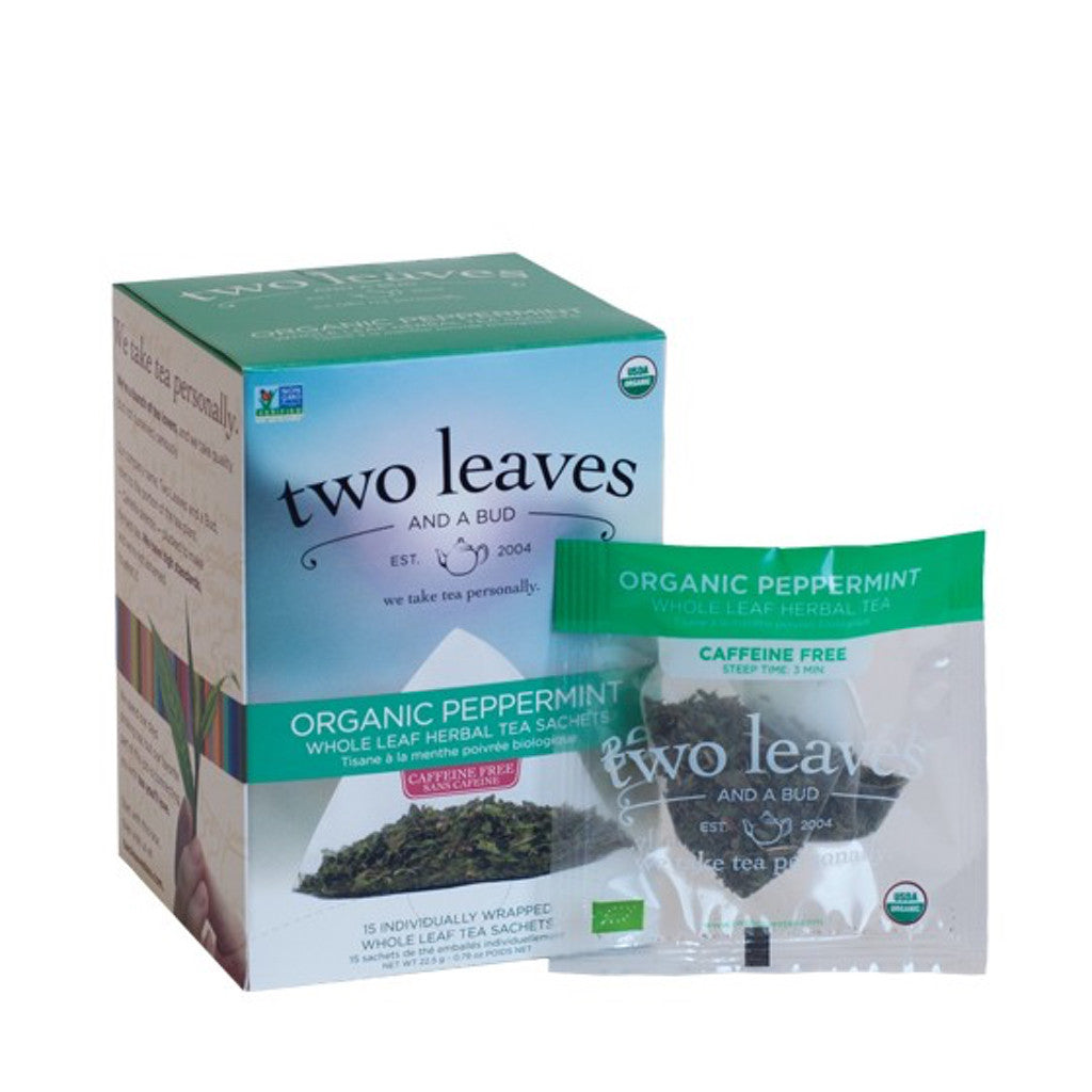 Peppermint Two Leaves and a Bud Tea