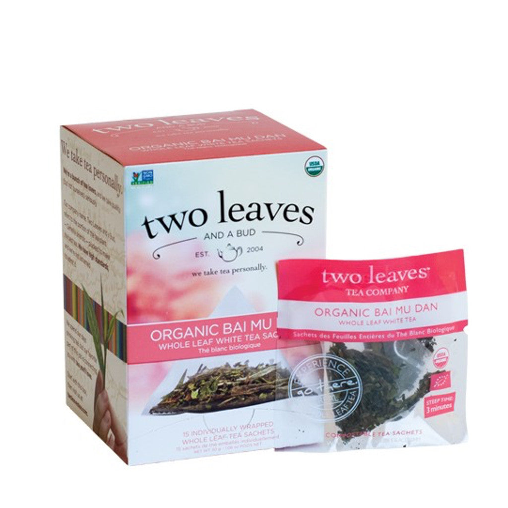 White Peony Organic Bai Mu Dan Two Leaves and a Bud