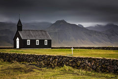 Black Church, Budir - Iceland