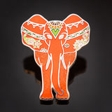 Ella-Phant Geocoin: Peach
