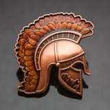 Centurion Geocoin: Antique Copper/Orange