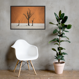 Framed 'Deadvlei Sunrise' Premium Print