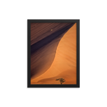 Framed 'Golden Dune' Premium Print