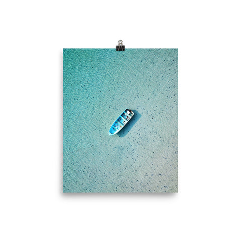 'Blue from Above' Print