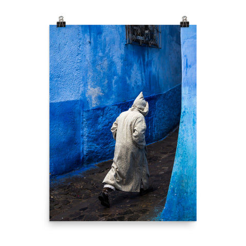 'Chefchaouen Streets' Print