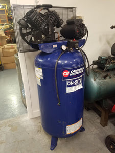 Campbell Hausfeld 5-HP 80-Gallon Single-Stage Air Compressor (Used)