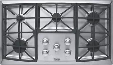 Viking Designer Series 36 Inch Gas Cooktop